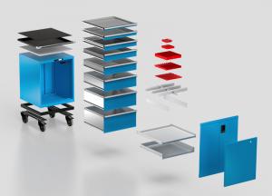 Schubladenschränke konfigurieren LISTA