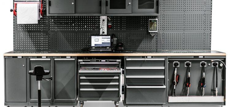 Elemente der Kfz-Werkstatteinrichtung