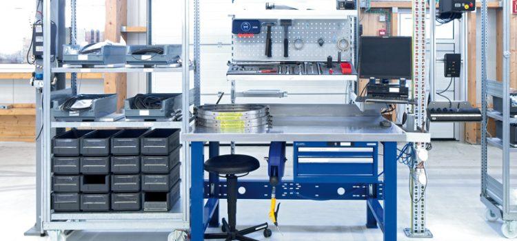 Arbeitsplatzsysteme für die Kfz-Werkstatt