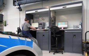LISTA Werkstatteinrichtung Arbeitsplatz Kfz